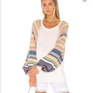 Free people rainbow thermal!